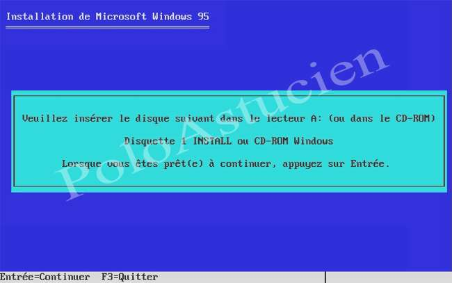 demande de disquette
