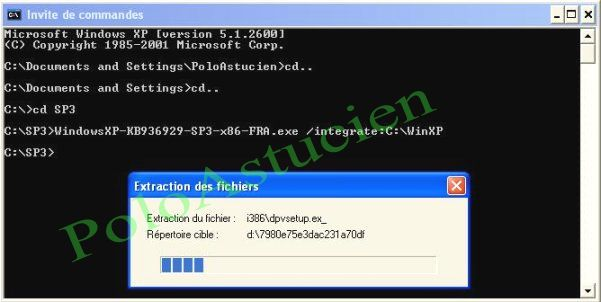 extraction du fichier