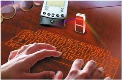 clavier laser et d'infrarouge