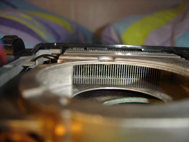 ouie du ventilateur CPU propre
