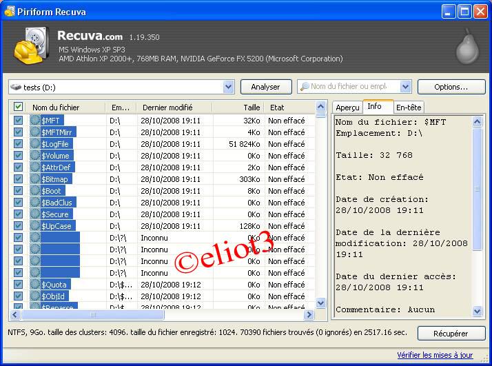 s�lectionner tous les fichiers