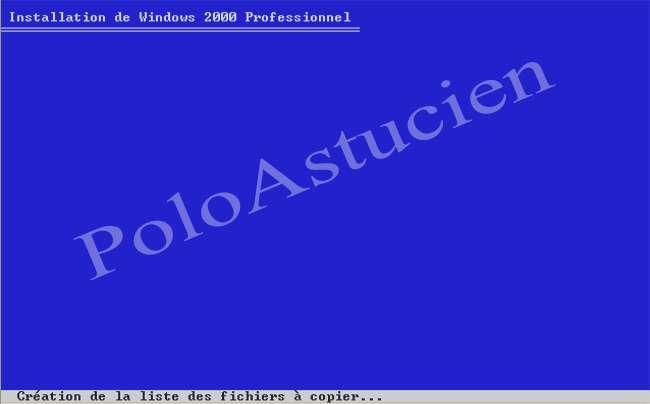 création liste fichiers
