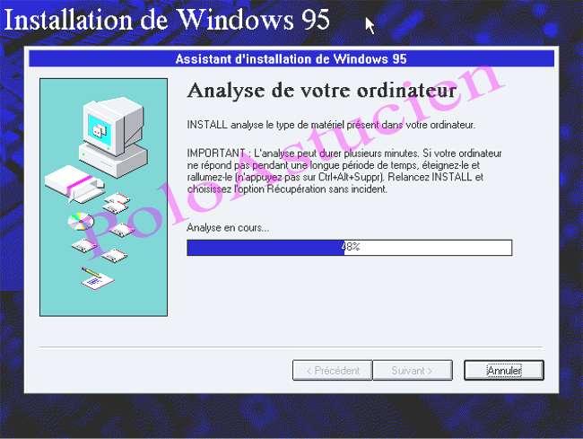 analyse du PC