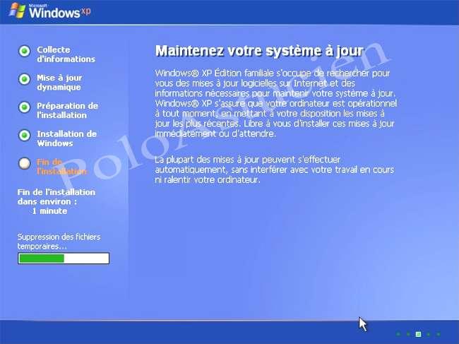 suppression fichiers temporaires